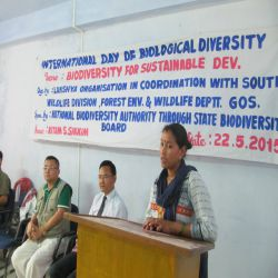 International Day for Biological Diversity South District 2015