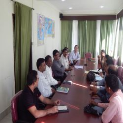 Meeting for identification of bioresources